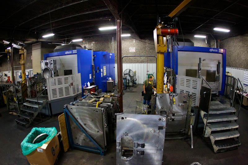 CNC machining tooling design