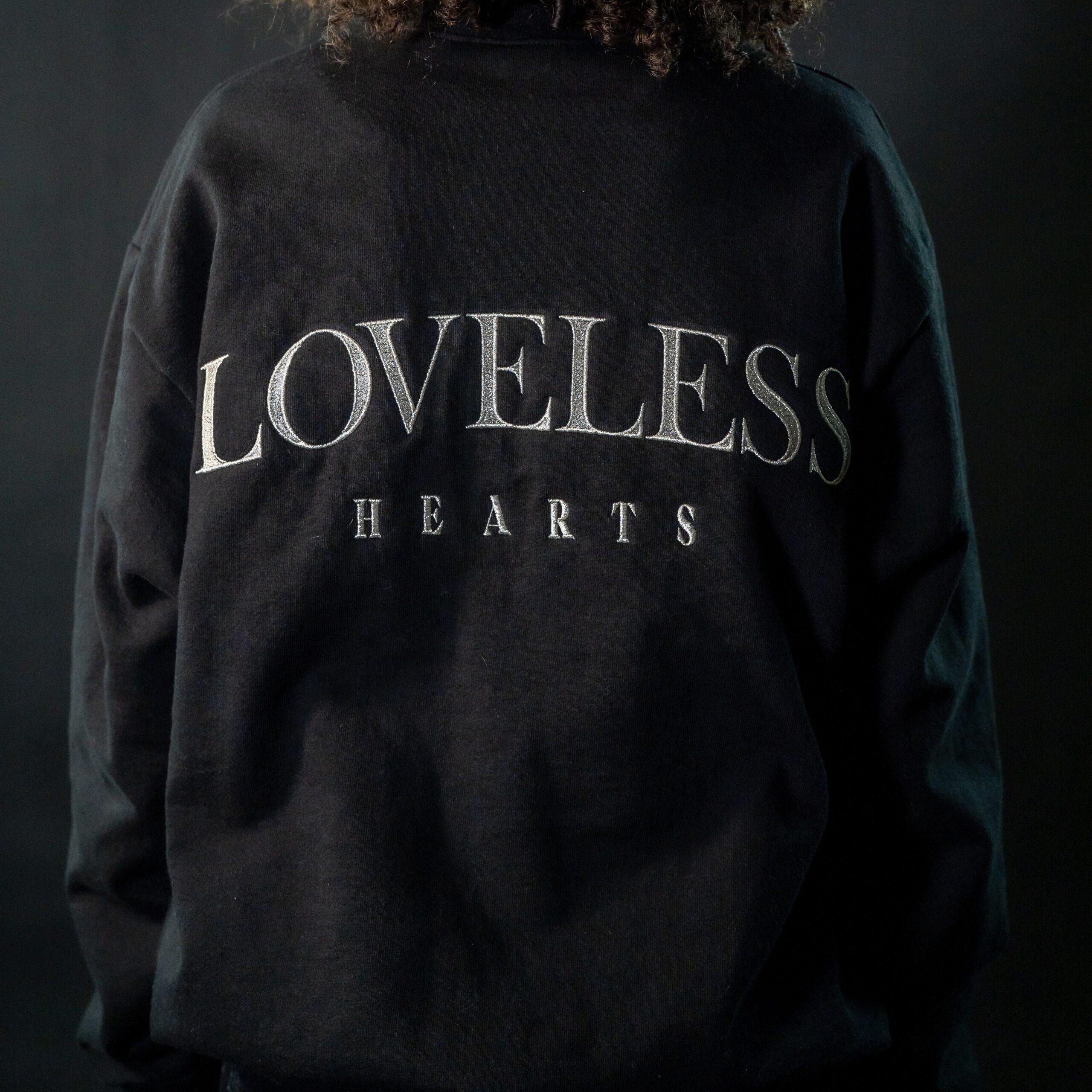 """Loveless"" Pullover Crewneck Sweatshirt (Pre-Order)"
