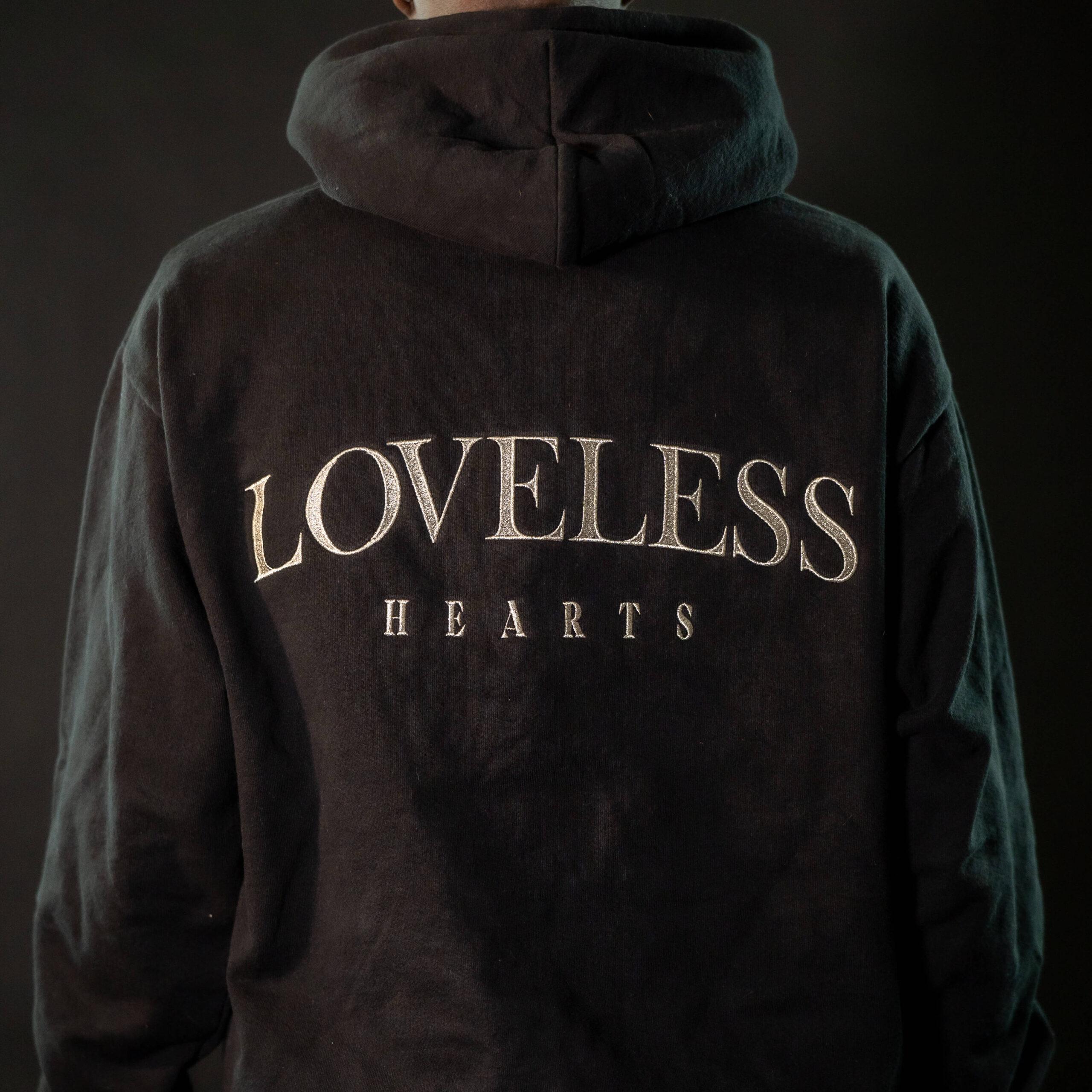 """Loveless"" Pullover Hooded Sweatshirt (Pre-Order)"