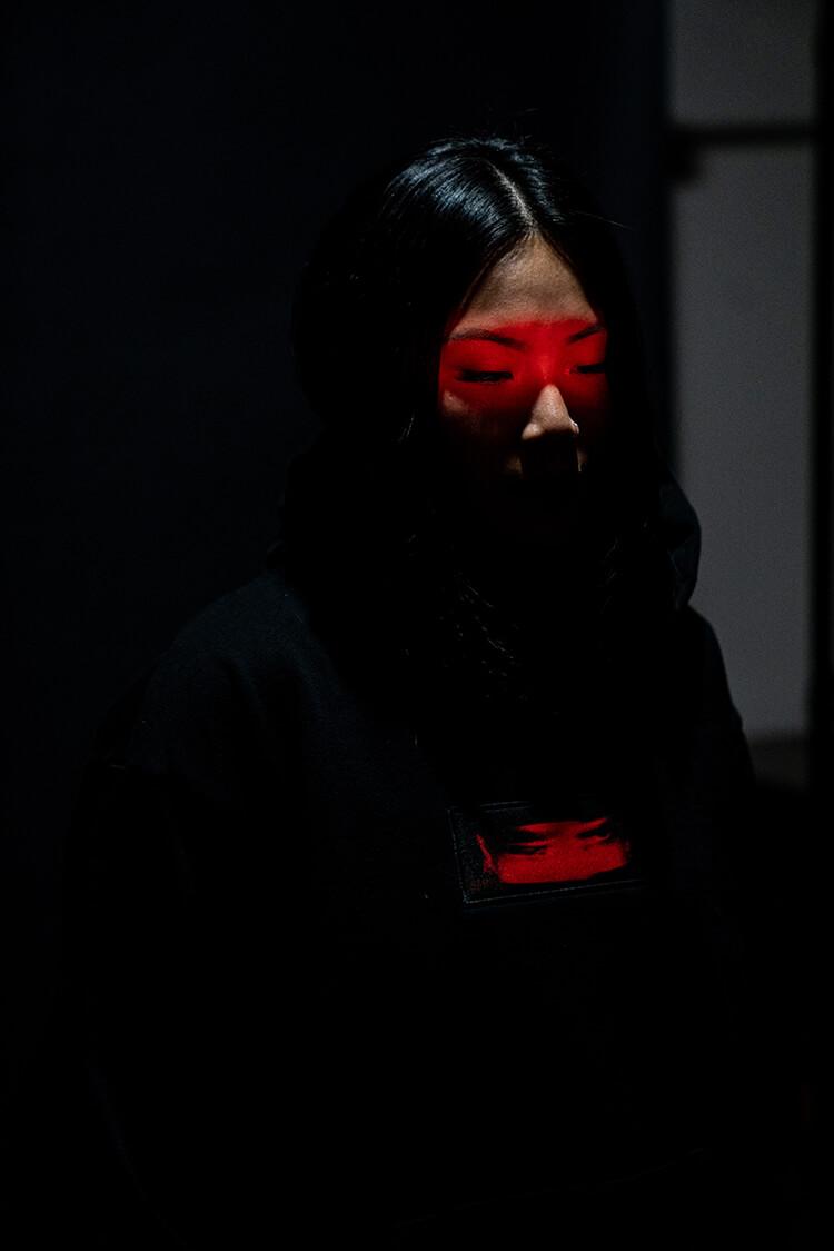 """""""Demons"""" Pullover Hooded Sweatshirt (Pre-Order)"""