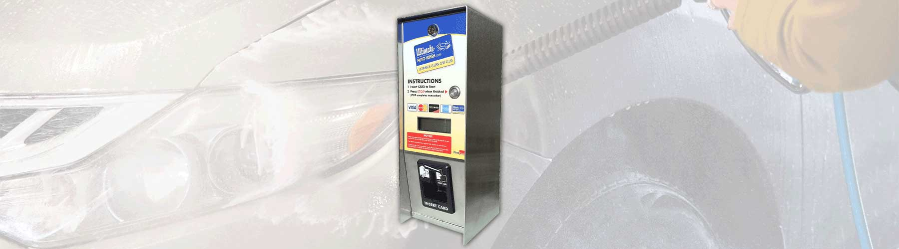 Self Service Terminal Bay for credit card and loyalty