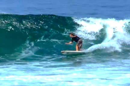 Dreamland-Intermediate surf lesson 2