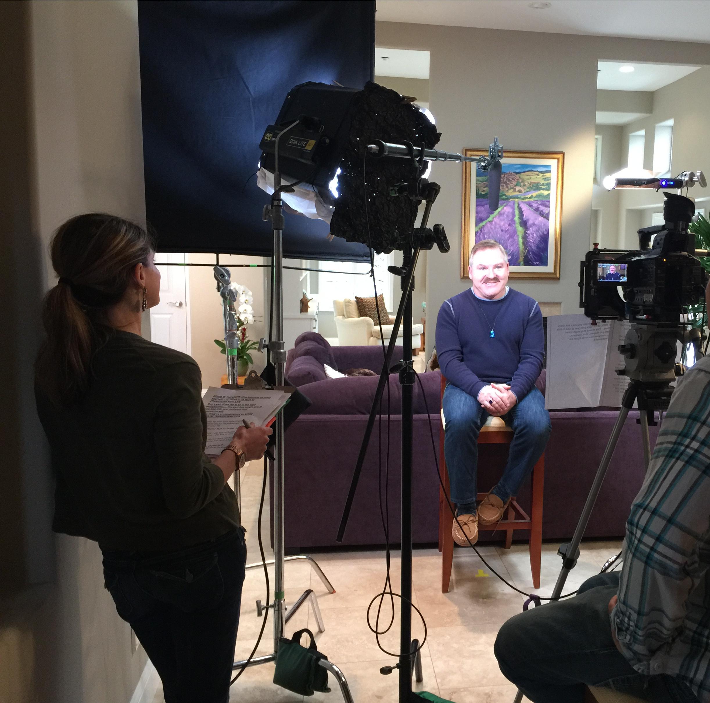 Filming James Van Praagh Emily Manning