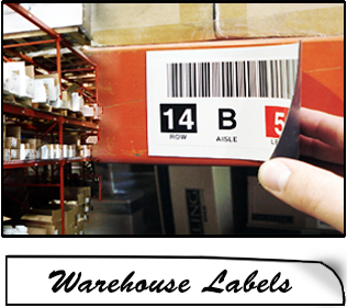 home warehouse labels