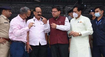 CM धामी ने ऋषिकेश-कर्णप्रयाग रेल लाइन परियोजना की समीक्षाा। विकासकार्यों में तेजी लाने के दिए निर्देश