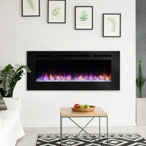 SimpliFire Allusion Electric Fireplace