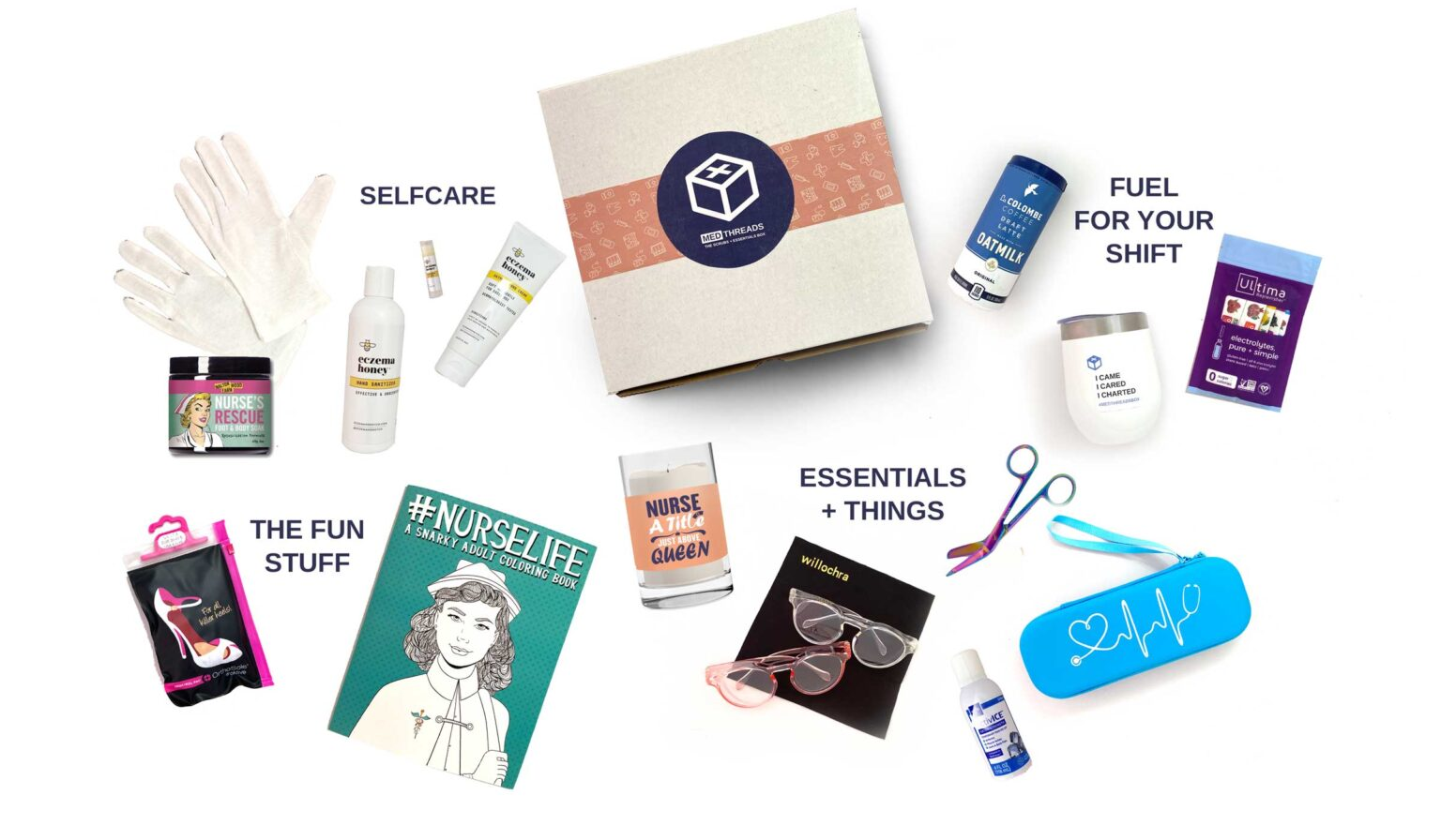 MedThreads Scrubs And Essentials Subscription Box