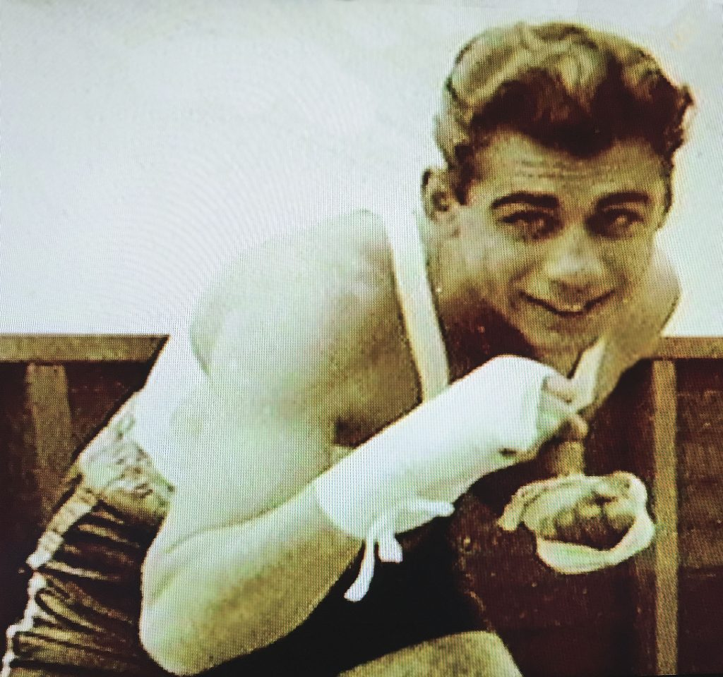"Welterweight ""Rifle Right"" Kerkorian"