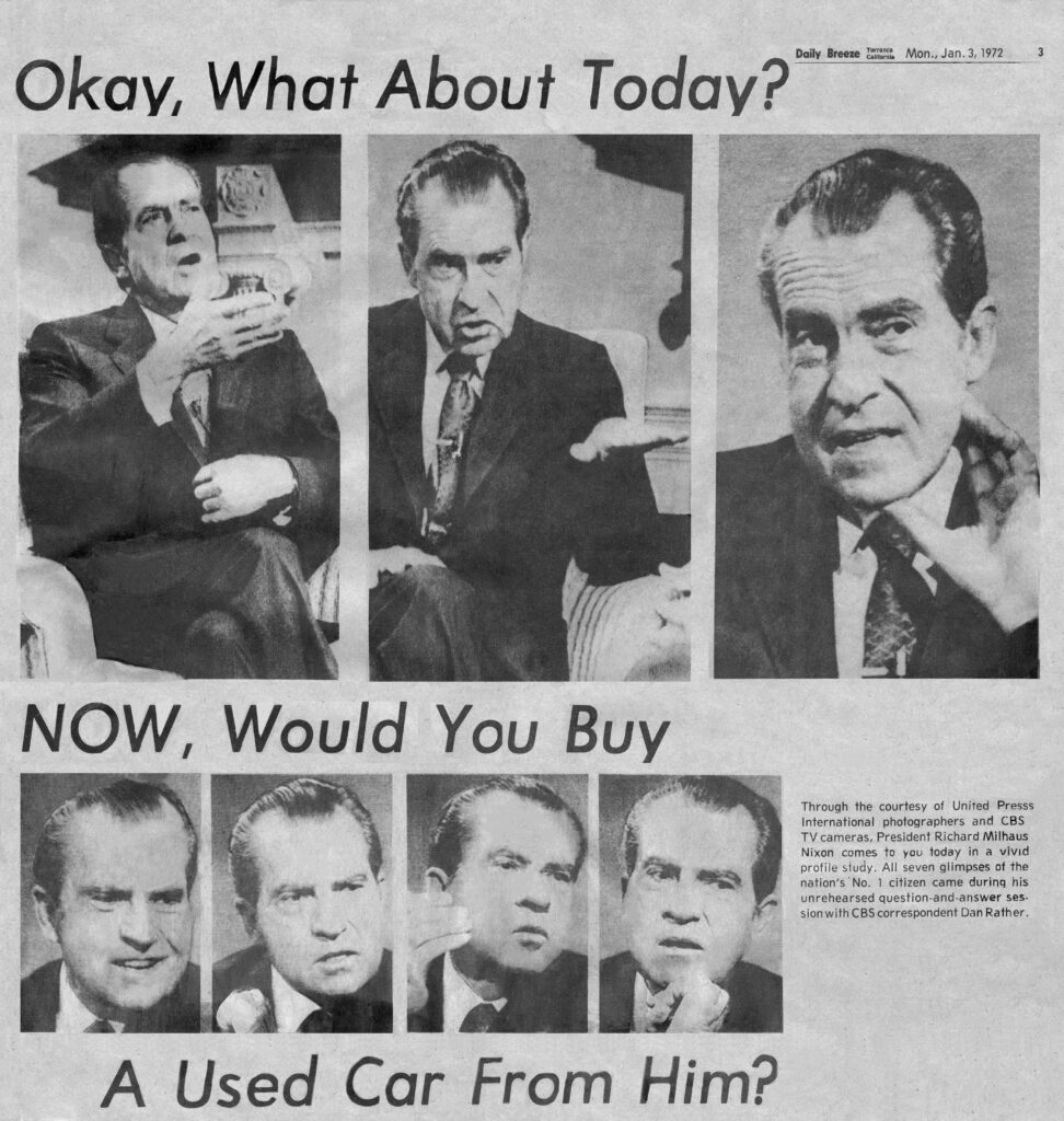 Daily Breeze Nixon Page