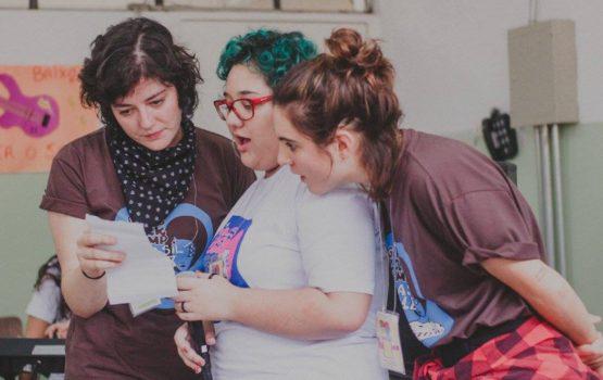 O que ganhei sendo voluntária no Girls Rock Camp Brasil