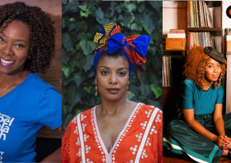 Claudinha Alexandre, Thalma de Freitas e Lys Ventura contam a história da música negra em evento online