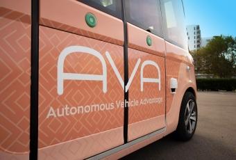 Pinellas Suncoast Transit Authority Autonomous Vehicle AVA