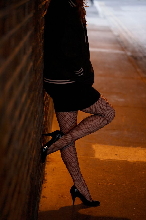 Photo of prostitute on the street