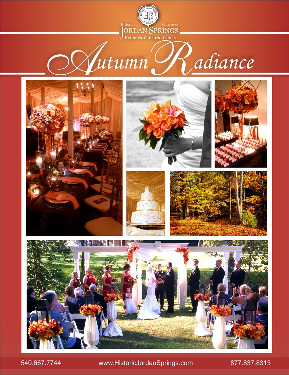 Autumn Radiance, Historic Jordan Springs Wedding Venue, Winchester, VA