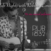 Pub Nights with Robbie Limon at Pub 1832