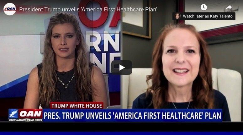 Talento discusses President Trump's Health Plan