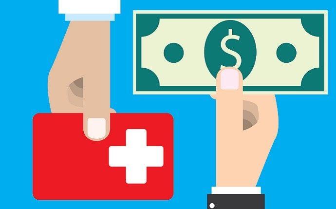 Money exchange with health care