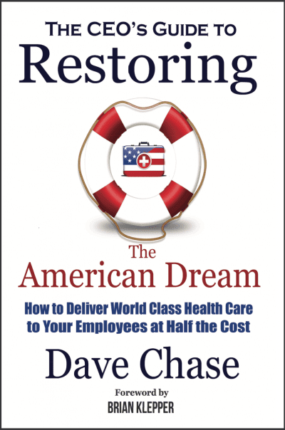Book Cover - The CEO's Guide to restoring the American Dream