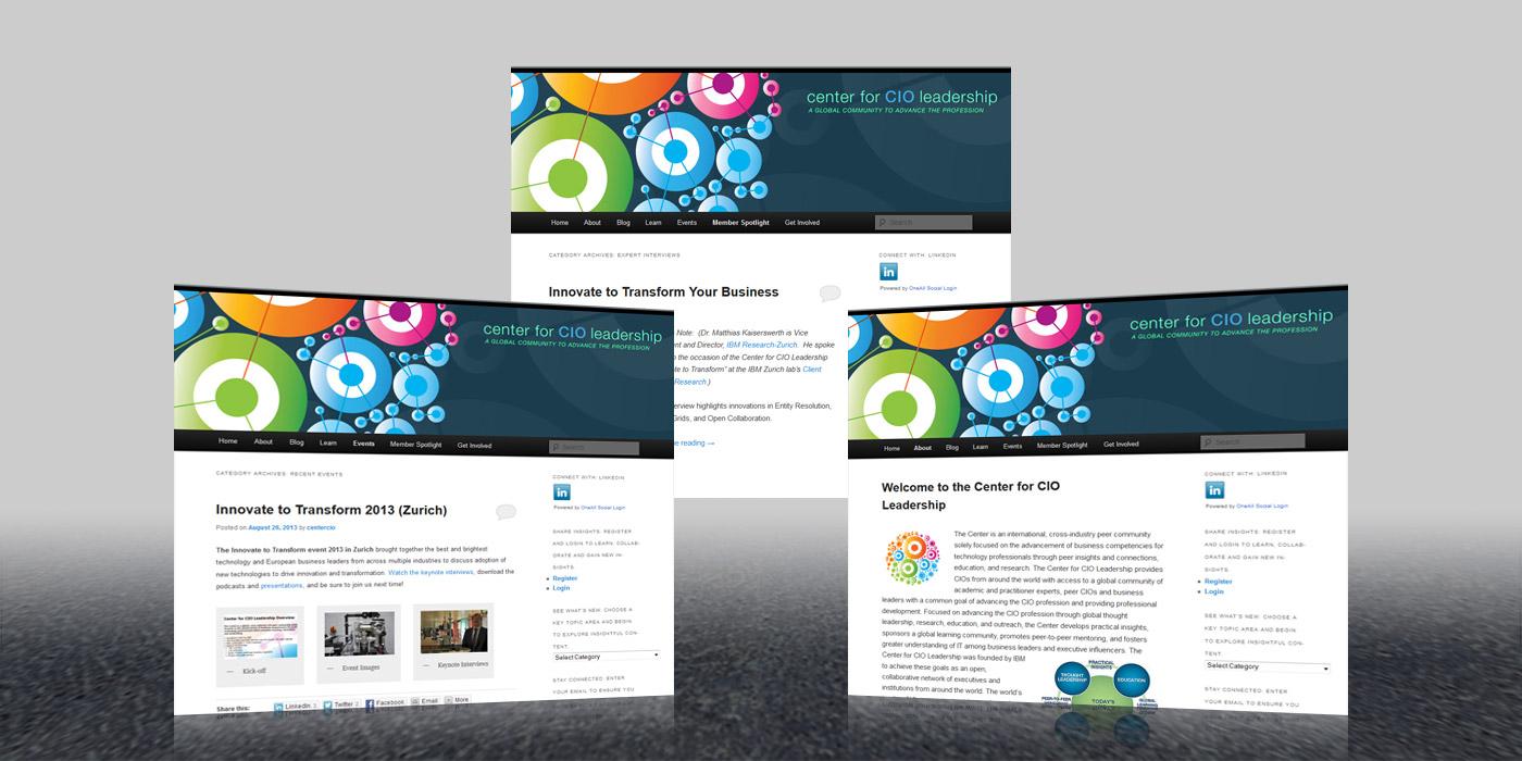 Center for CIO Leadership Web Site