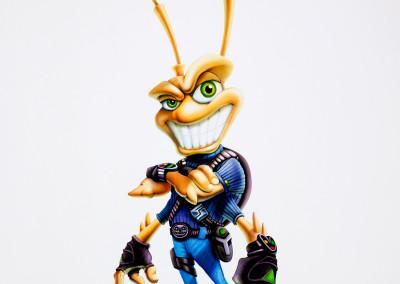 EA Bug Character Illustration