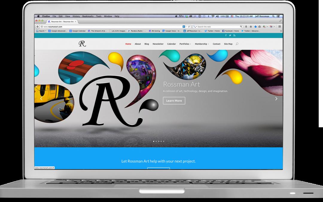 rossmanart.com Home Page