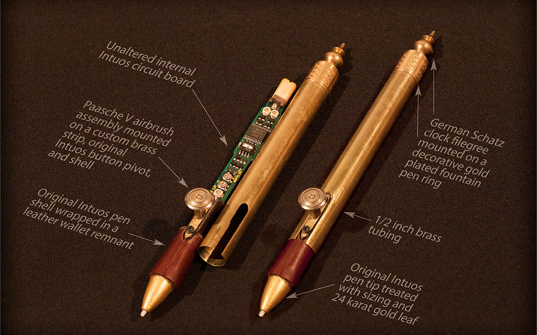 Steampunk Wacom, Part 1 (The Stylus)