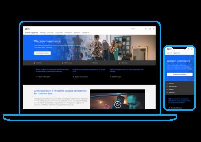 Watson Commerce Site