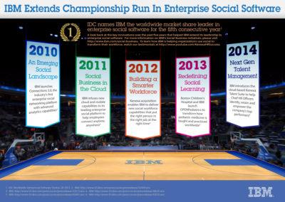IBM Enterprise Social Software Infographic