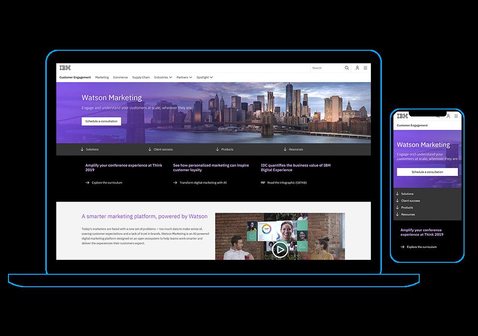 Watson Marketing Site