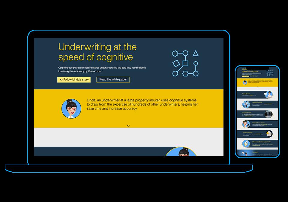 Cognitive Underwriter Infographic