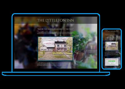 Lyttleton Inn Landing Page