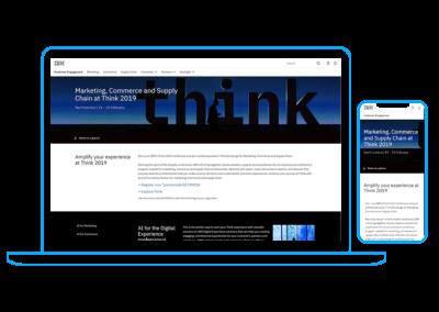 Think 2019 Landing Page