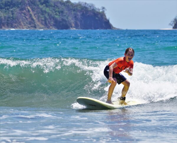 Kids are Stoked to Learn to Surf in Costa Rica