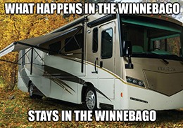 Winnebago crushed fiscal fourth-quarter earnings and revenue estimates.