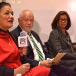 Dulce María Suari, Abel Hibert y Mónica Serrano