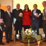 Rafael Gamboa, Samuel Toledo, Rolando Cordera, Altagracia Gómez, Carlos Michel y Gastón Melo