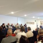 Juan Carlos Bonet, José Antonio Valdés, Ignacio Durán, Emilio Cárdenas, Catherine Alice Bloch y Leopoldo Soto