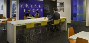 Break and collaborative work area