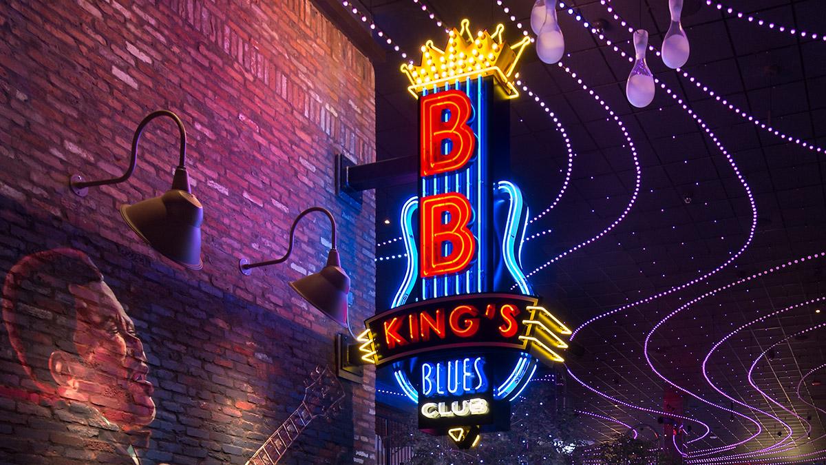 BB King's Blues Club at Wind Creek Casino