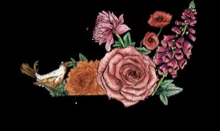 Wild Petals Bend Logo