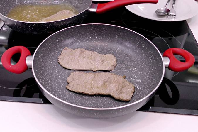 Keep the fillets already fried