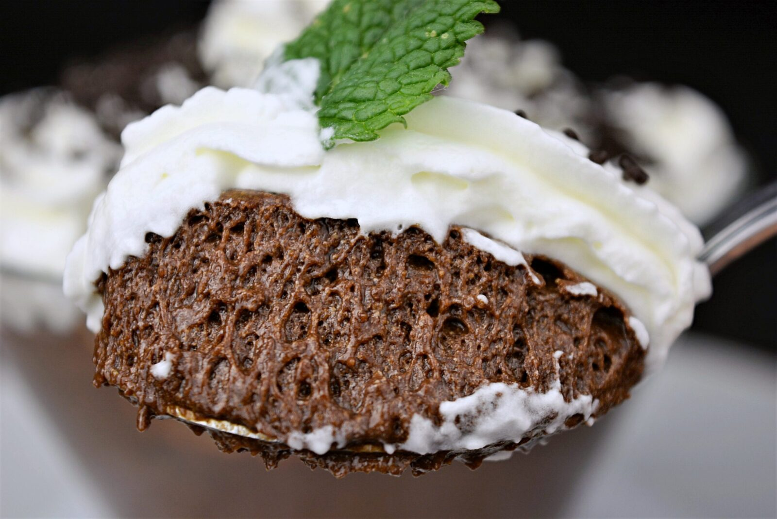 Very easy chocolate mousse