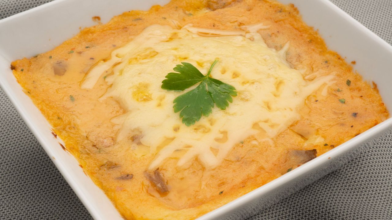 Recipe for cakes with mushrooms, ham and cheese - Karlos Arguiñano