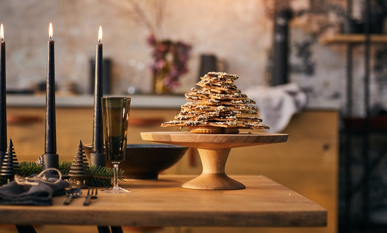 Christmas biscuit tree - Love for cooking NEFF