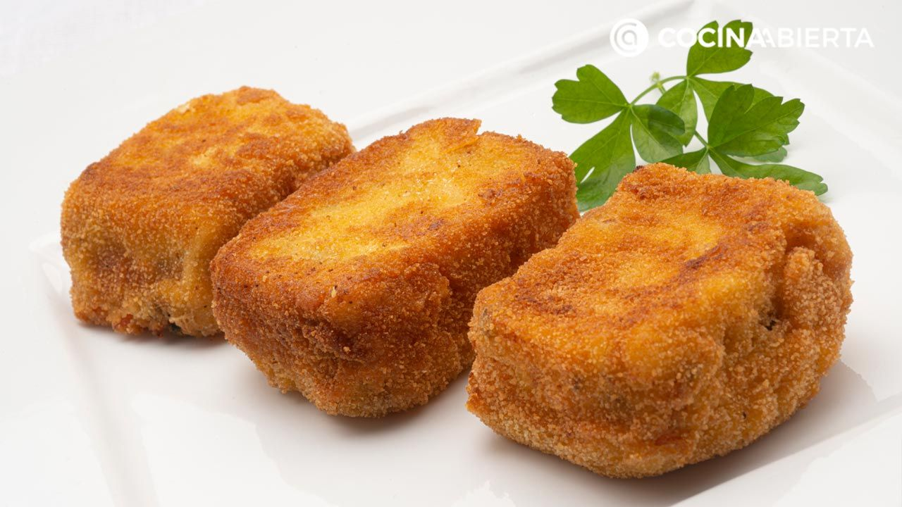 Mussel delicacies, square croquettes that Carlos Arginiano could not resist