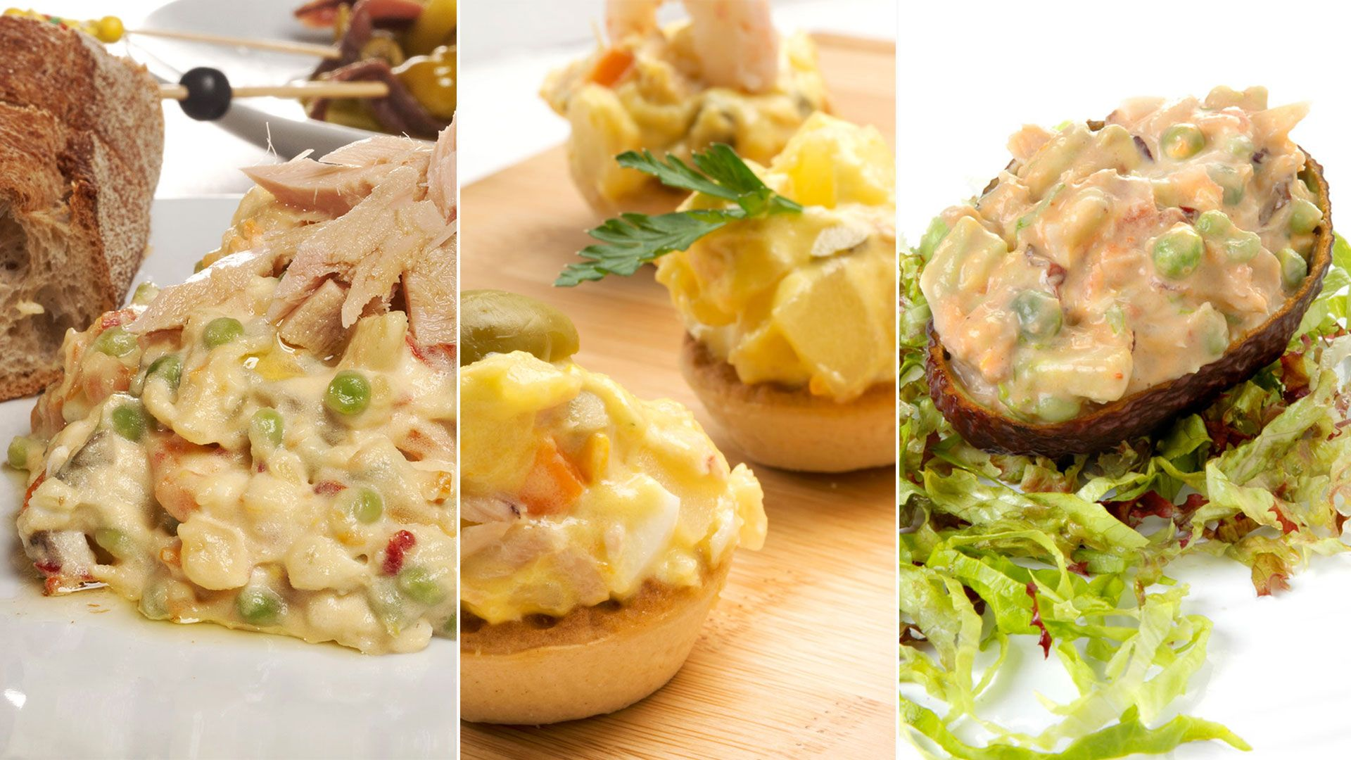 5 different ways to eat Russian salad