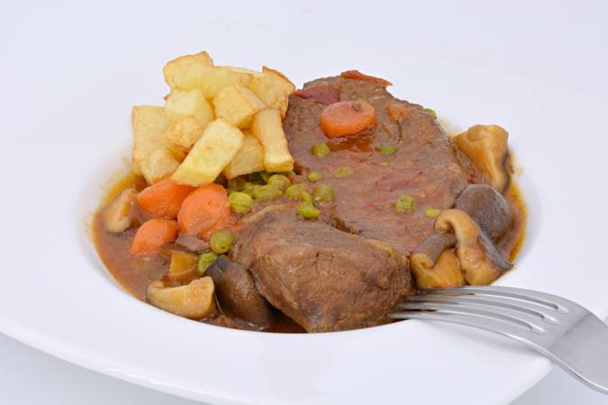 We can now put our beer stew on the table