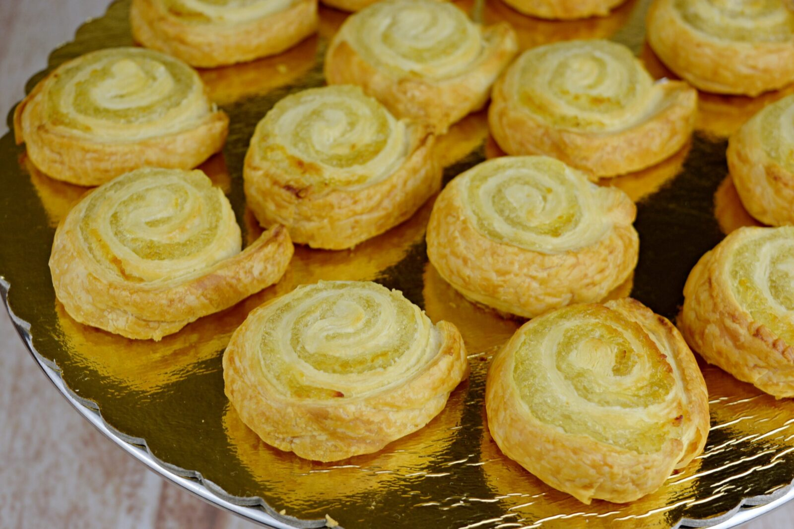 Puff pastry and angel hair