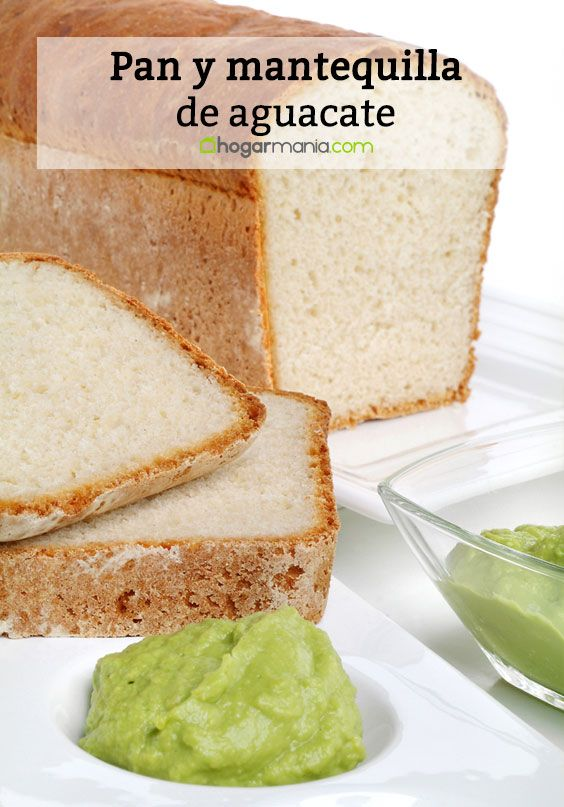 Avocado bread and butter