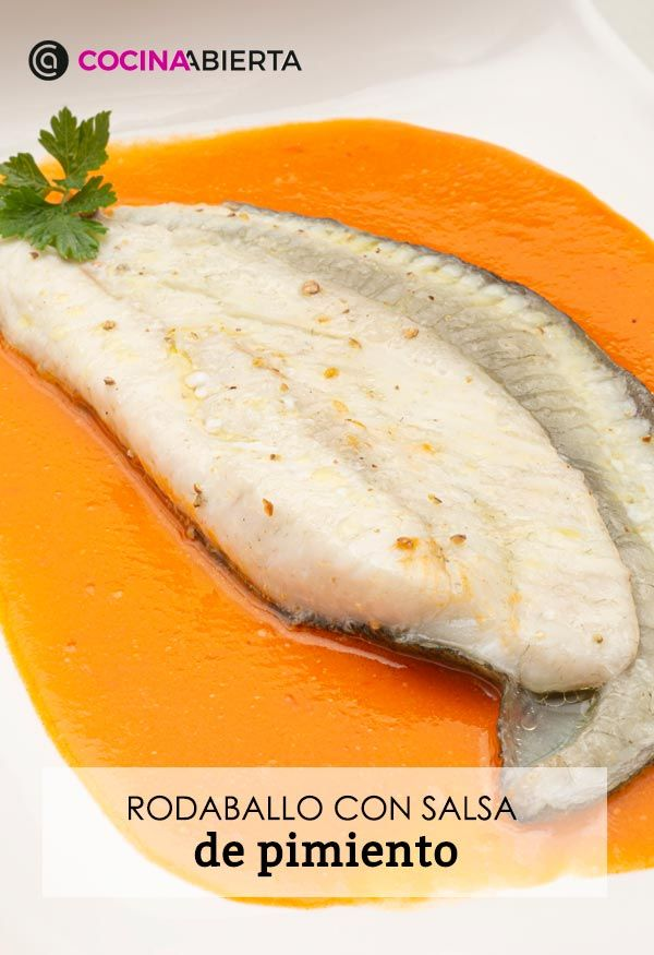 Turbot with pepper sauce